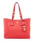 Vitello Phenix red leather tote bag Sale - prada Sale