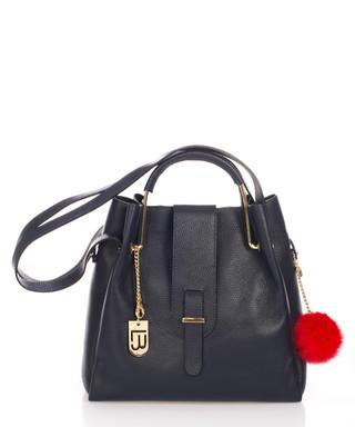e30a7d74178 Avellino blue leather grab bag Sale - lucca baldi Sale