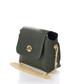 Ghemme green leather crossbody Sale - zoe & noe Sale