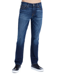 Ricky W Flap cotton straight jeans