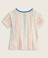 Girls' striped patch T-shirt Sale - true religion Sale