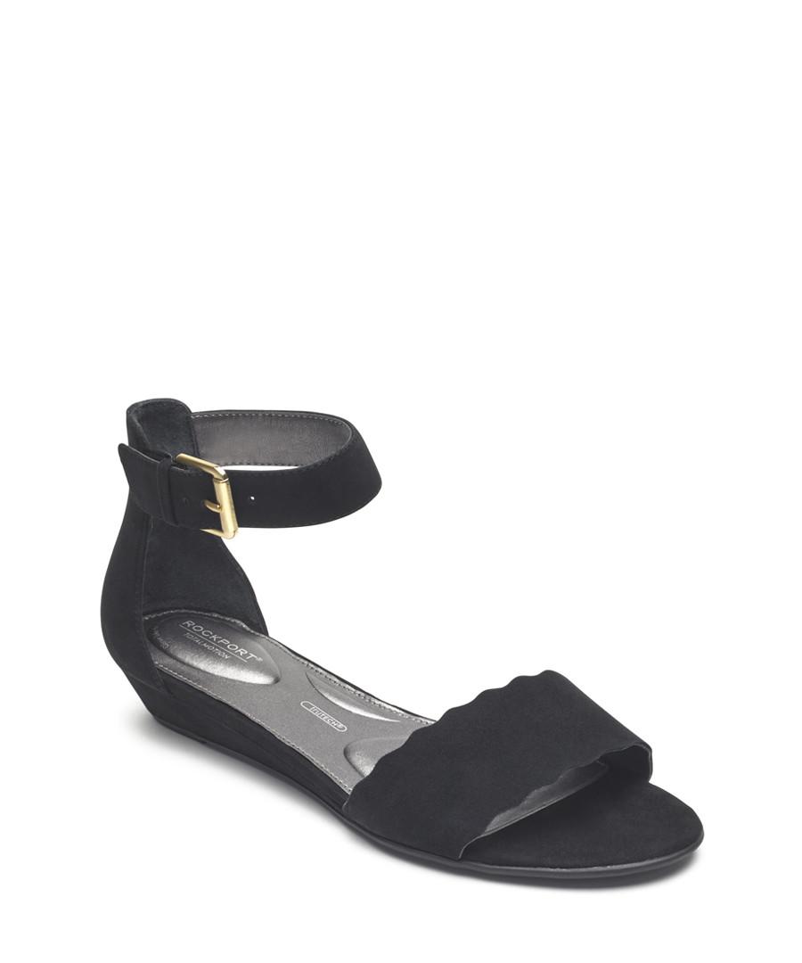 Zandra curve black sandals Sale - rockport