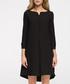 Black 3/4 sleeve straight dress Sale - stylove Sale