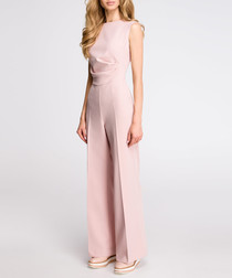 Rose wide-leg sleeveless jumpsuit