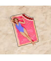 Toaster Tart beach blanket