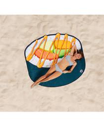 Sushi beach blanket