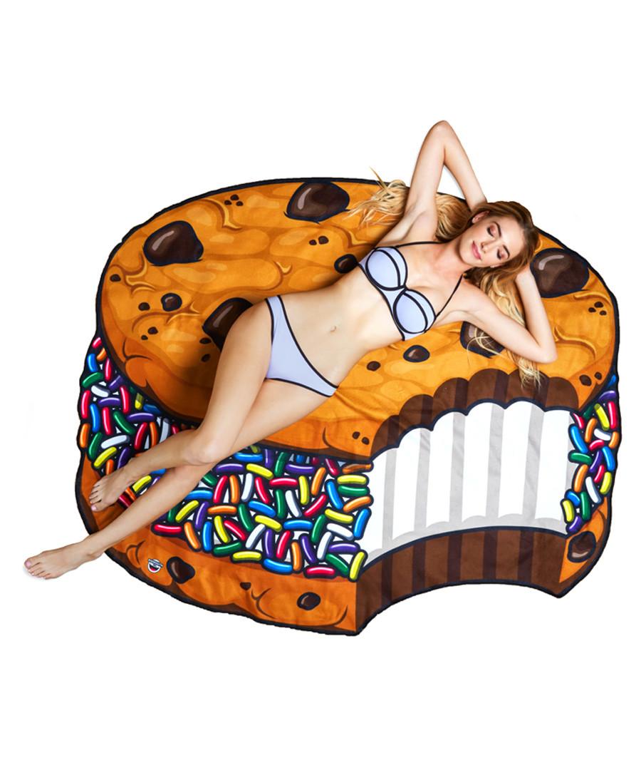 Cookie beach blanket Sale - big mouth inc