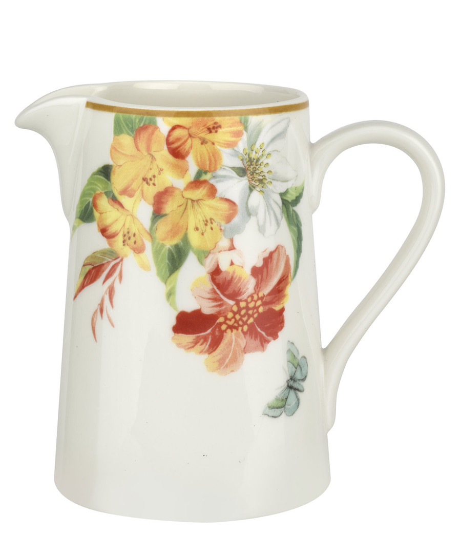 Floral porcelain cream jug Sale - spode maui