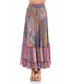 Multi-colour pure silk gypsy skirt Sale - tantra Sale