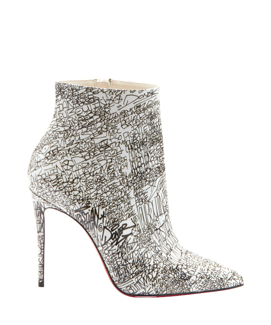 So Kate Booty 100 monochrome ankle boots Sale - christian louboutin