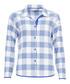Elisa blue check pyjama top Sale - cyberjammies Sale
