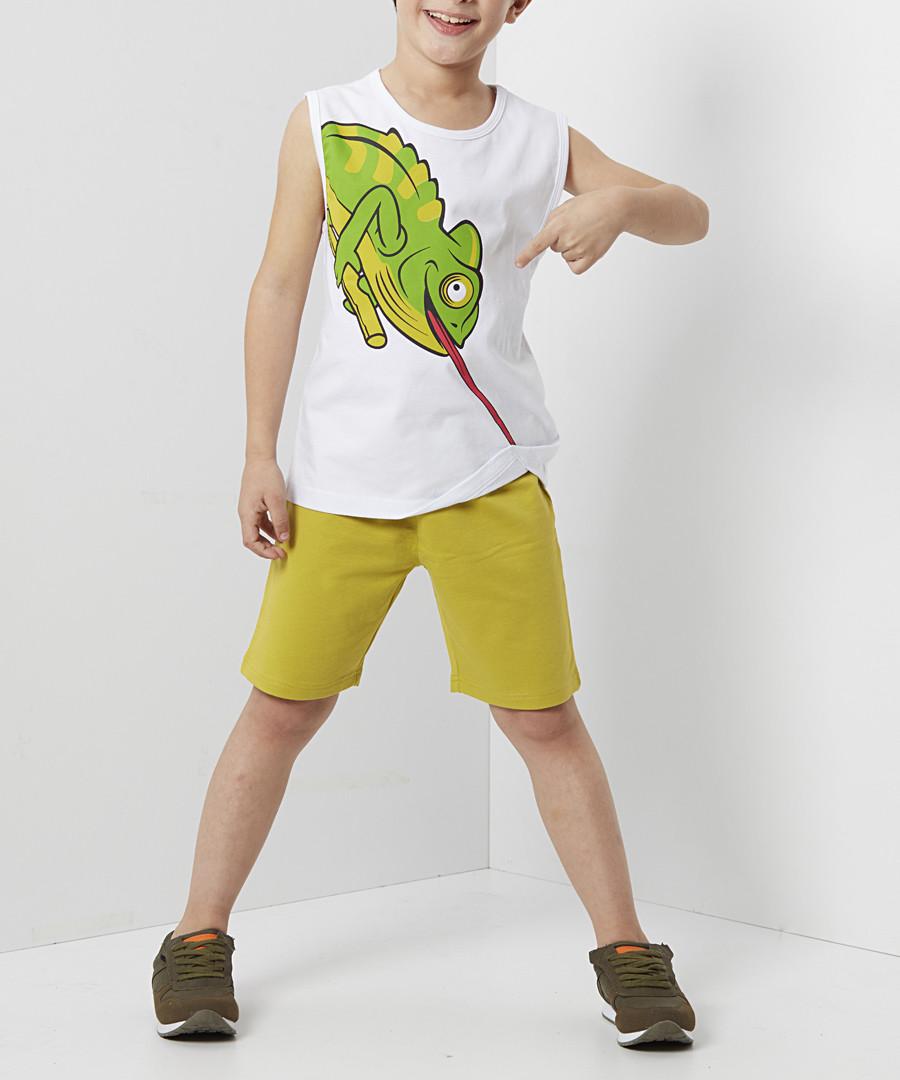 2pc Chameleon cotton outfit set Sale - denokids