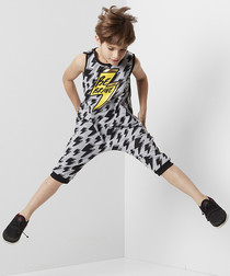 2pc Thunder Power cotton jumpsuit