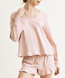 Eleanor rose organic cotton blend top