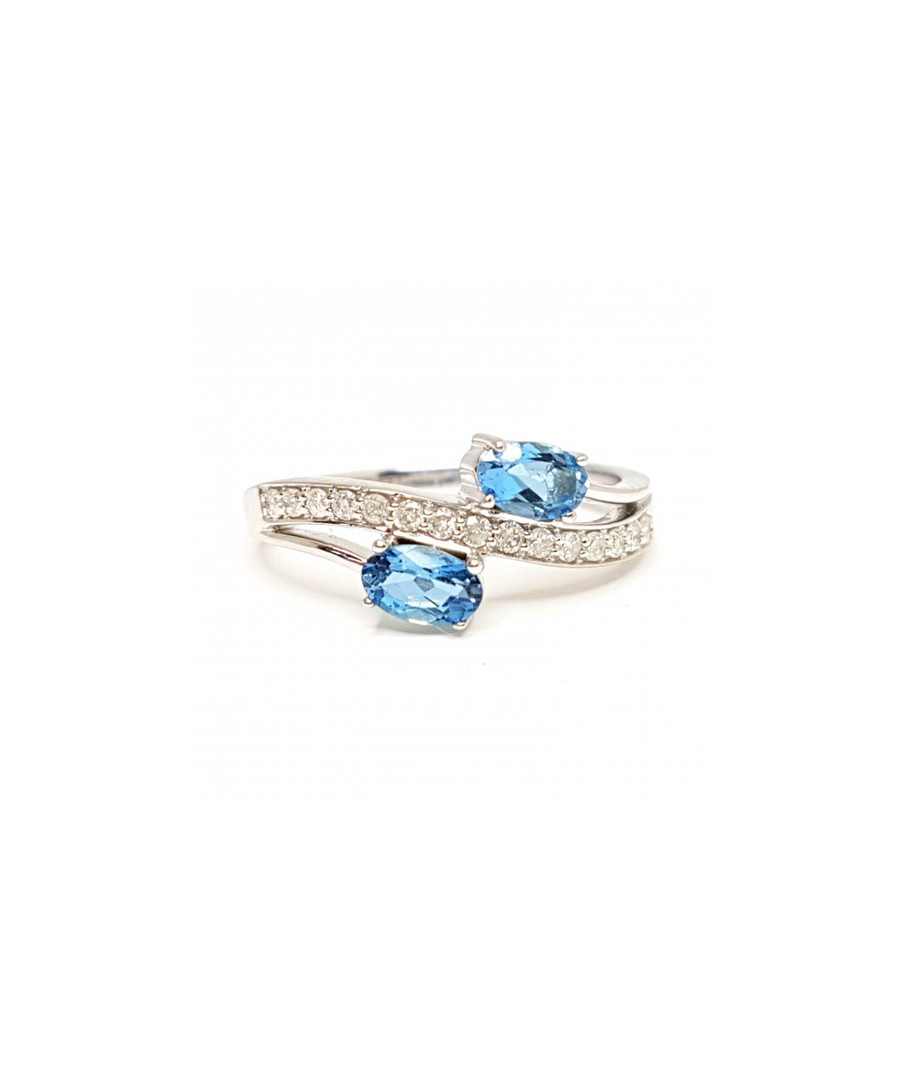Aquamarine & diamond engagement ring Sale - Buy Fine Diamonds