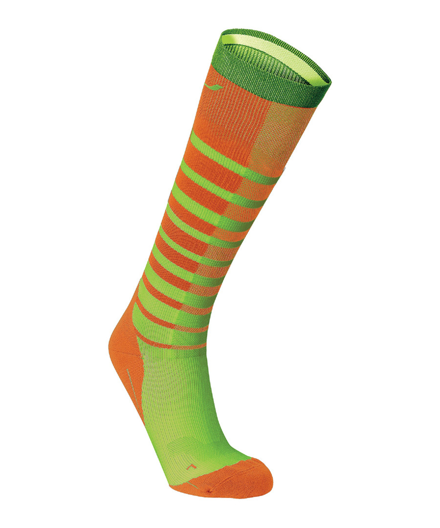Striped Run compression socks Sale - 2XU