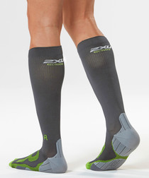 Recovery dark compression socks