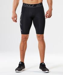 Accelerate black compression shorts