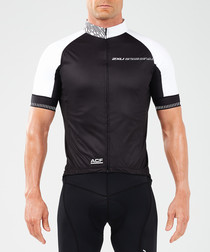 Aero Winter black cycling jacket