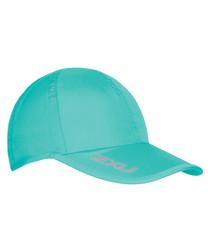 Run aqua baseball cap