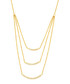 Lily gold-plated layered necklace Sale - sole du soleil Sale