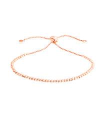 Marigold rose gold-plate bracelet