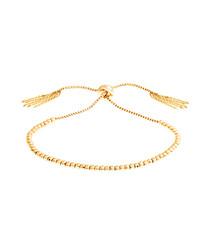 Marigold gold-plate bracelet