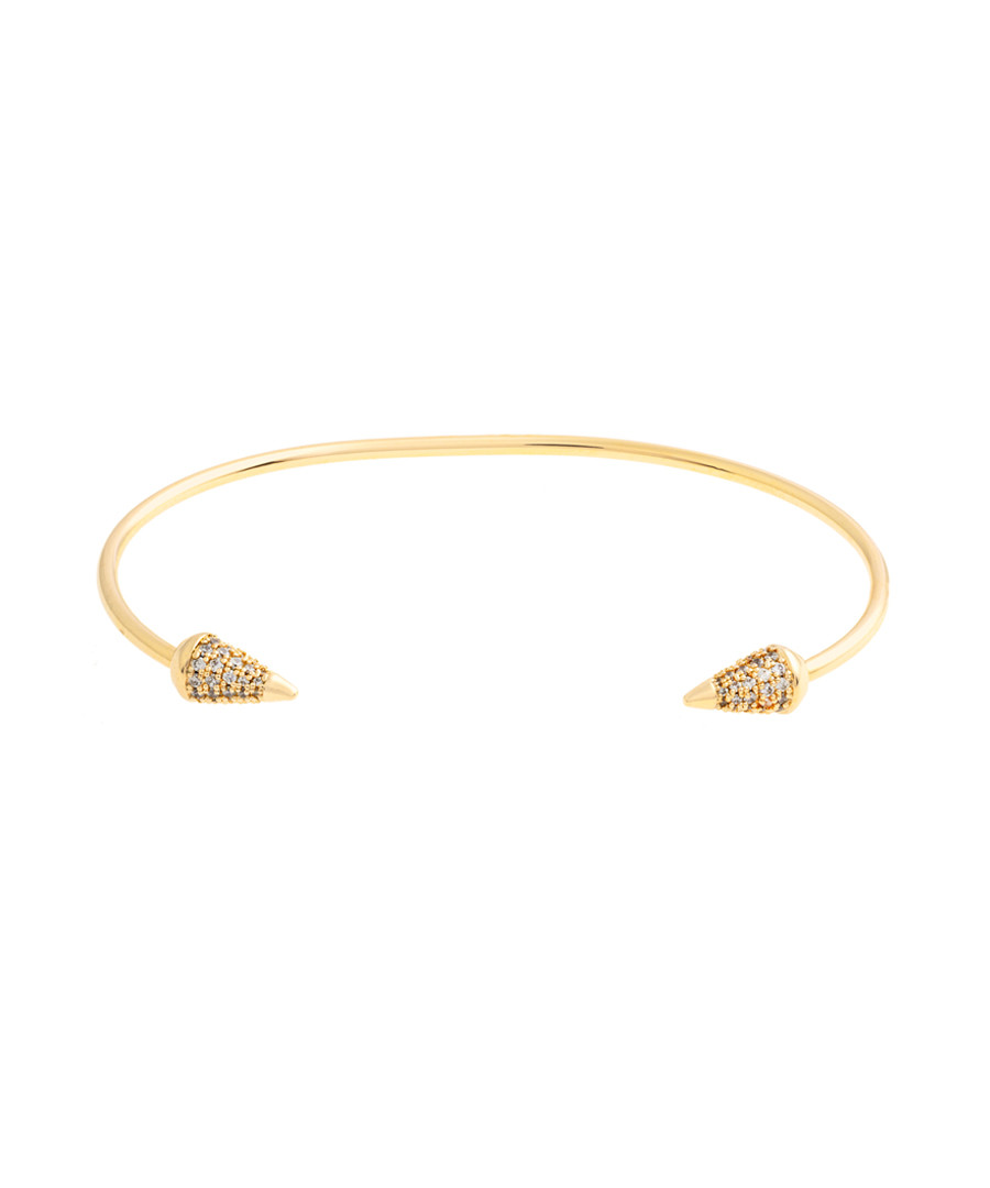 Lupine gold-plated bangle Sale - sole du soleil