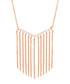Lily rose gold-plated tassel necklace Sale - sole du soleil Sale