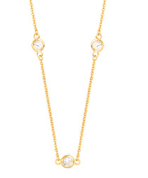 Marigold gold-plated necklace