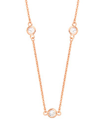 Marigold rose gold-plate necklace