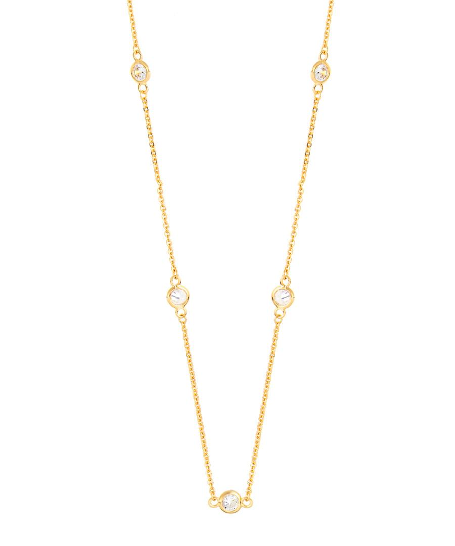 Marigold gold-plated necklace Sale - sole du soleil