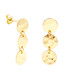 Marigold gold-plated disc earrings Sale - sole du soleil Sale