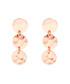 Marigold rose gold-plated disc earrings Sale - sole du soleil Sale
