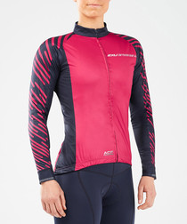Cycle Aero Winter berry jacket