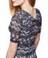 Navy lace back bodycon mini dress Sale - yumi Sale