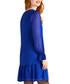 Cobalt flare hem dobby dress Sale - yumi Sale
