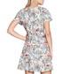 Retro traveller short sleeve mini dress Sale - yumi Sale
