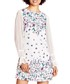 Ivory blouson sleeve mini dress Sale - yumi Sale