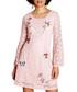 Light pink floral lace swing dress Sale - yumi Sale