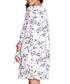 Ivory print long sleeve tunic Sale - yumi Sale