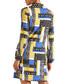 Multi-colour patchwork keyhole tunic Sale - yumi Sale