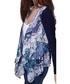 Blue print waterfall cardigan Sale - yumi Sale