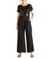 Black sequin body jumpsuit Sale - yumi Sale