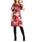 Rose print kimono dress Sale - yumi Sale
