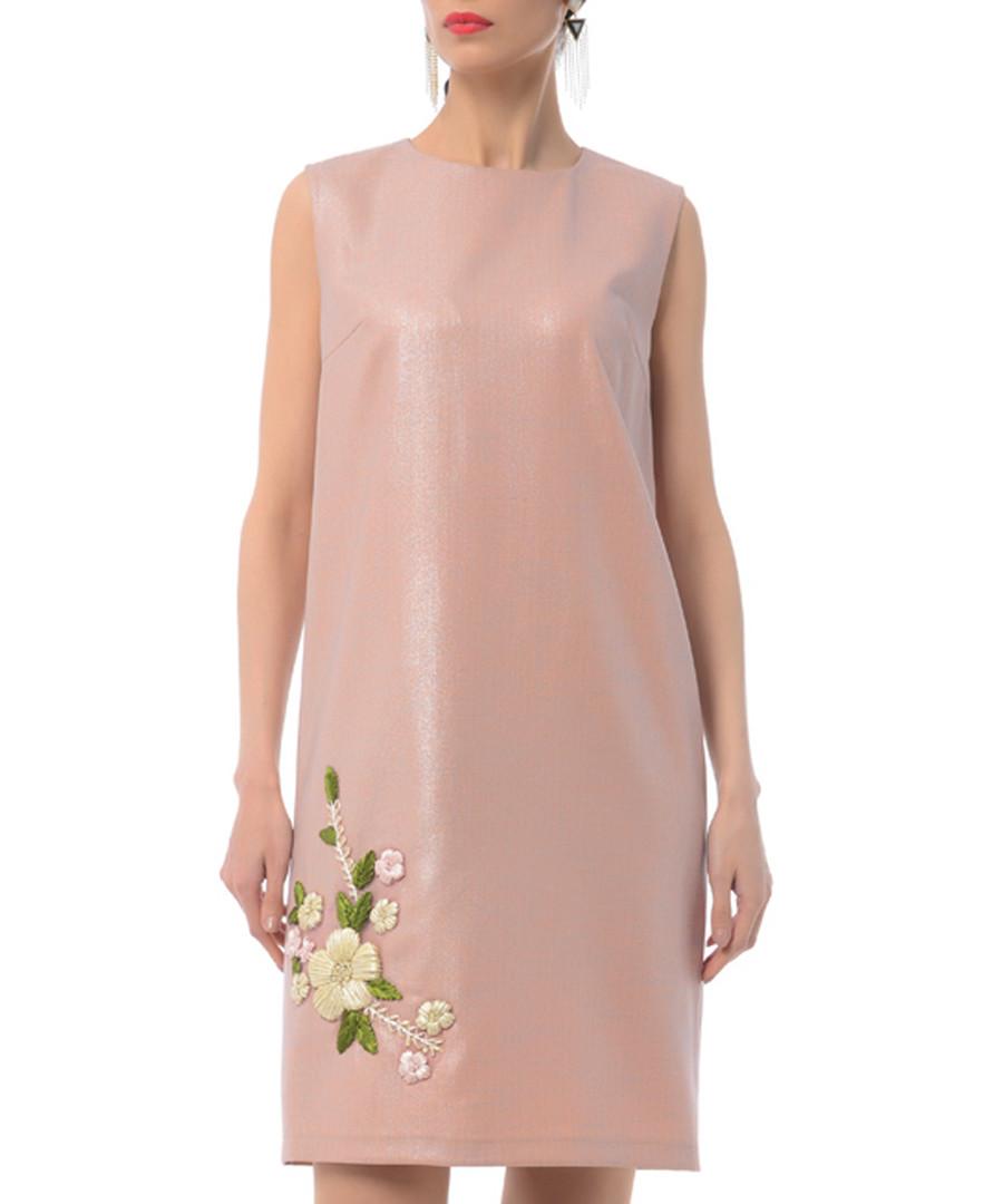 rose floral cotton blend shift dress Sale - Iren Klairie