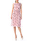 pale pink polka silk blend dress Sale - iren klairie Sale