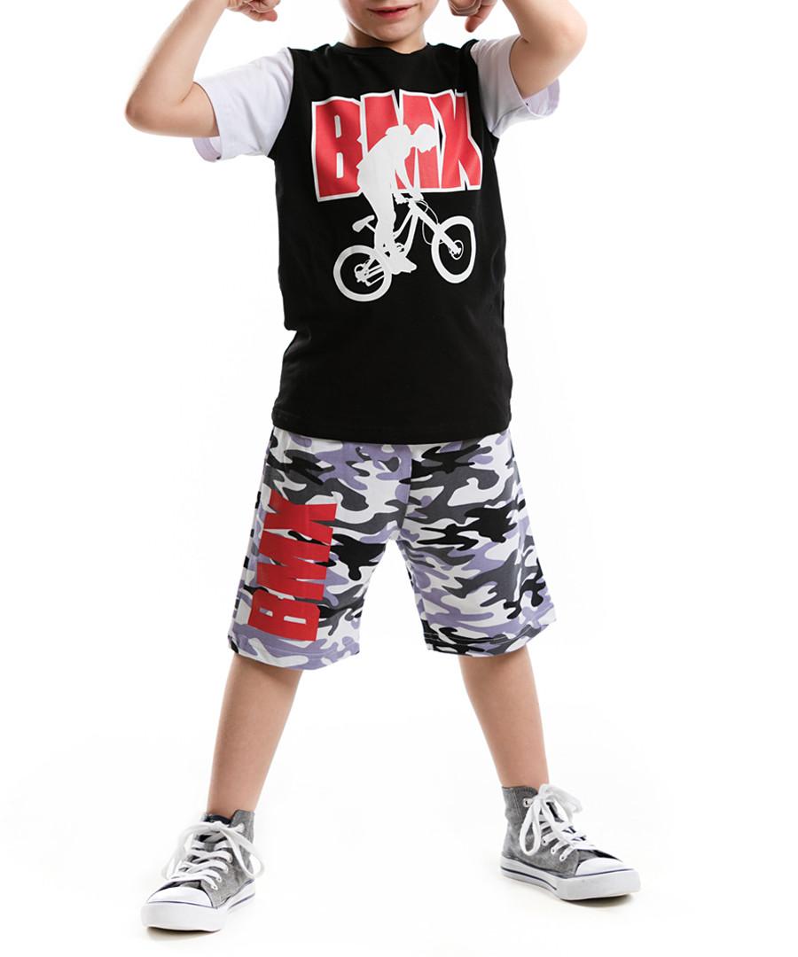 2pc BMX shorts & top set Sale - Mushi