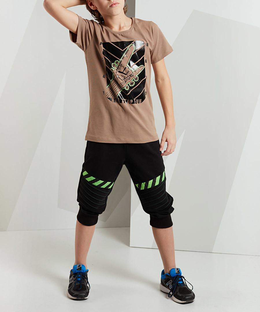 2pc Play Hard shorts & top set Sale - Mushi