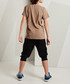2pc Play Hard shorts & top set Sale - Mushi Sale